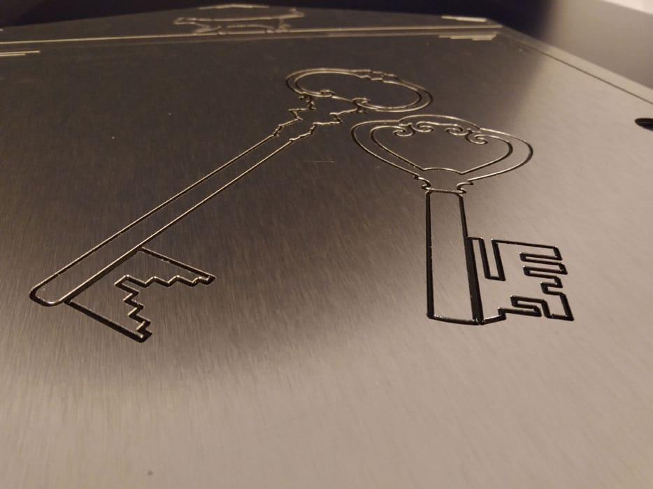 Frezowanie dibond szczotka