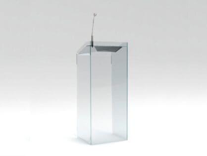 Urna, mównica, kieszeń na ulotki - co można jeszcze wykonać z plexi?